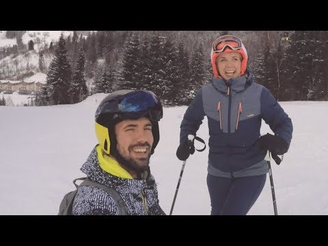 Hurrá csúszunk - D Tóth Kriszta és András sívlogja
