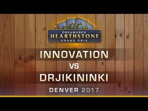 Innovation vs DrJikininki - Round 2 - Hearthstone Grand Prix DreamHack Denver 2017
