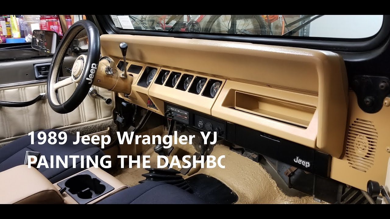 Jeep Yj Dashboard Replacement