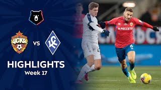 Highlights CSKA vs Krylia Sovetov (1-0)