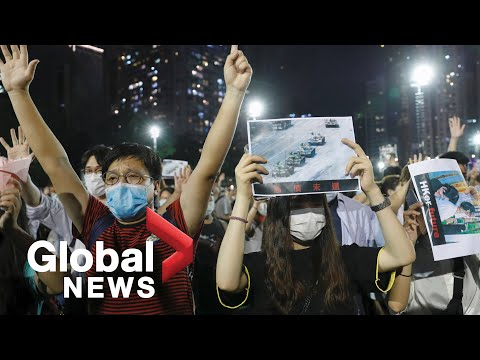 Tiananmen Square massacre: Hong Kong residents defy police ban to mark 31st anniversary with vigil