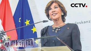 [中国新闻] 奥地利过渡政府宣誓就职 | CCTV中文国际