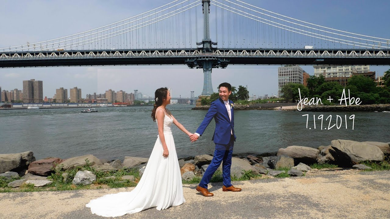 Jean and Abe Wedding - 26 Bridge