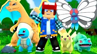 Minecraft: CASA DOS POKÉMONS !! (Parque Pokémon #11)