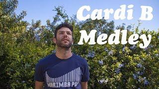 Cardi B Medley - Marimba Pop Covers Cardi B