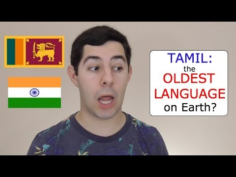 Is Tamil the OLDEST Language in the World?
