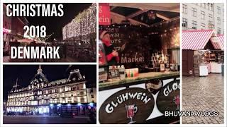 கிறிஸ்துமஸ் in Denmark | Merry Christmas | christmas Market in Denmark | Bhuvana vlogs