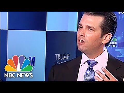 Donald Trump Jr. Says India's Poorest Have Something Special  NBC