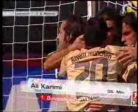 Ali Karimi GOAL vs. Leverkusen
