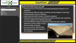 The Training Factor - Asbestos Awareness