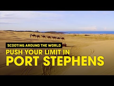 Push your limit in Port Stephens near Sydney - Scoot