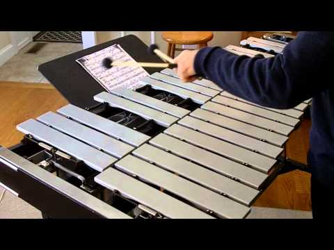 Ed Saindon Solo Vibraphone Masterclass on Very Early by Bill Evans
