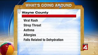 What's going around: Viral rash, strep throat, more