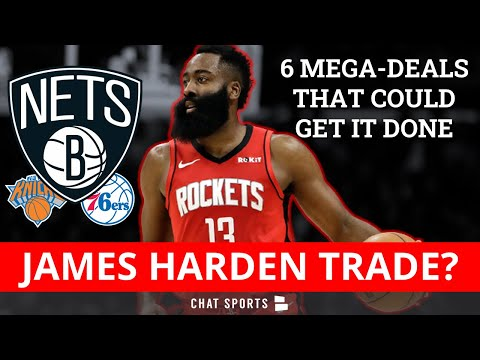 James Harden Trade: 6 NBA Trade Rumors For Houston Rockets Superstar Led By Nets & 76ers