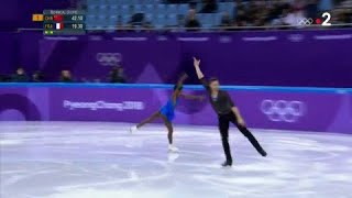JO 2018 : Patinage artistique couple - Retour sur l'incroyable performance du couple Cipres/James
