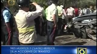 Accidente de tránsito en Barquisimeto.MP4