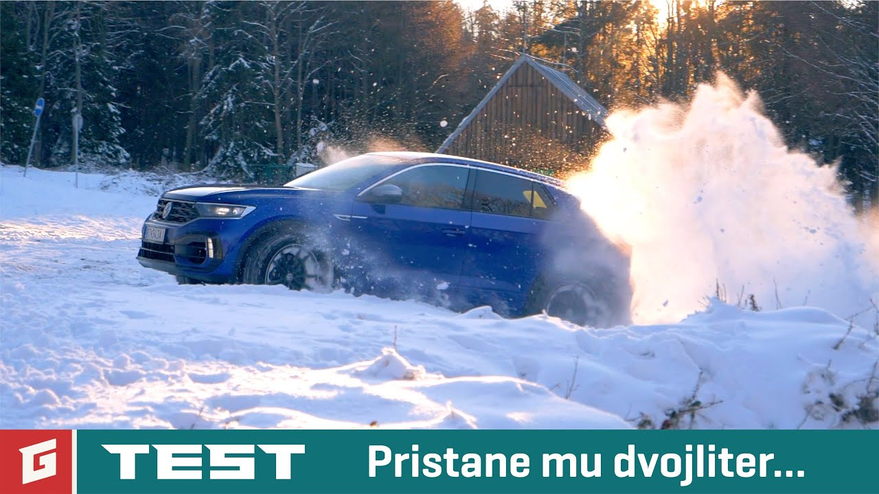 "Volkswagen T-ROC ""R"" - 2,0 TSI 4MOTION - TEST - GARAZ.TV - Rasťo Chvála"