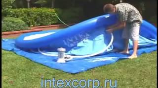 Надувной бассейн Intex Easy Set Pool(Intex Easy Set Pool - надувной бассейн, который легко и быстро устанавливается. Он надежен, легок в обслуживании..., 2014-04-24T17:00:37.000Z)