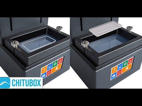 How i Made my own UV Resin printer Vat Cleaner using ChiTuBox.