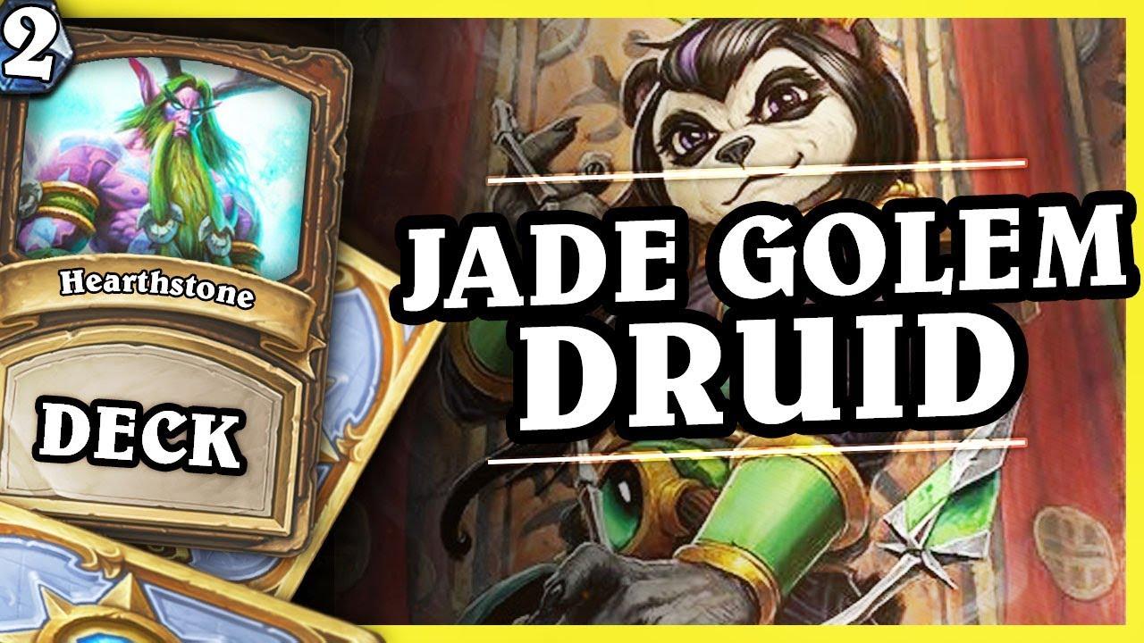 JADE GOLEM DRUID – DRUID 2/2 – Hearthstone Decks