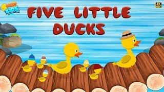 Five Little Ducks   Animation Rhymes For Kids   Funny Kids   Kids ...