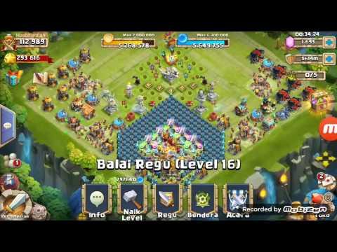 Tutorial NN 3 Lengkap Buat Akun Gratisan Konflik Kastil (Castle Clash)