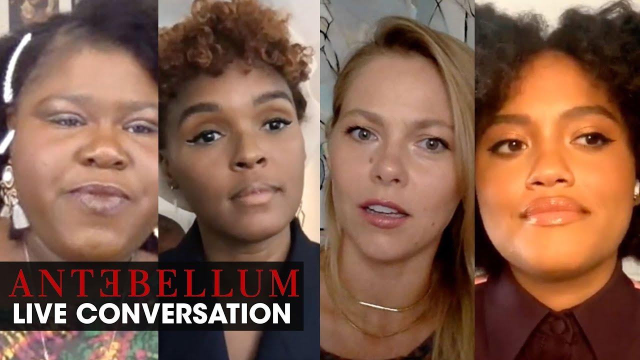 "Antebellum (2020 Movie) Live Conversation ""The Women of Antebellum"" – Janelle Monáe"