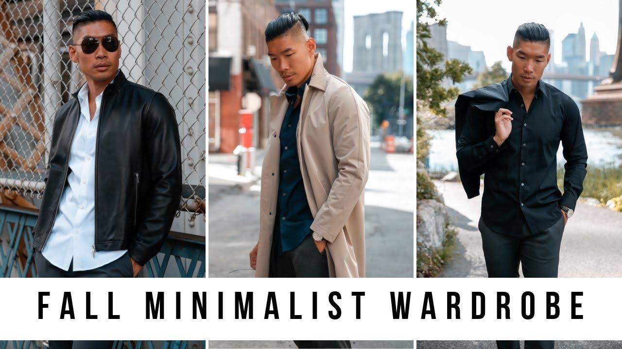 [VIDEO] - Fall Minimalist Wardrobe | Men's Fashion 2019 | Levitate Style 3