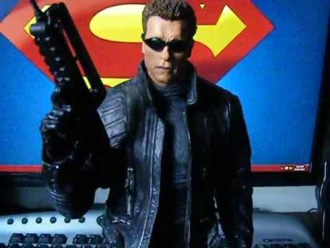 "12"" Mcfarlane Terminator T-850 Figure Review - YouTube"