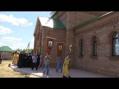 В селе Еремеево впервые за 100 лет открылся храм