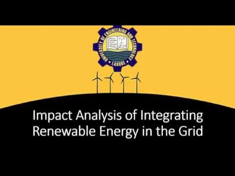 G37: Impact Analysis of Integrating Renewable Energy in the Grid