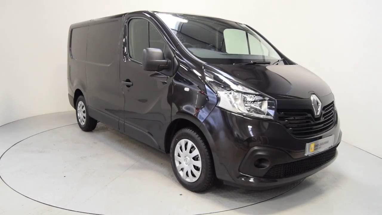2016 renault trafic van black renault van ni shelbourne motors jxz1835 youtube. Black Bedroom Furniture Sets. Home Design Ideas