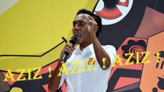 Abdul Aziz 名声亮起来 !挤爆现场! Aziz! Aziz! Aziz! being heard from 5thousand  of crowd !!  300416 (1)