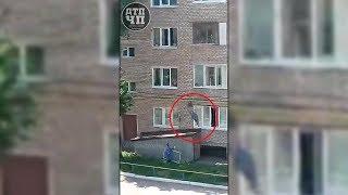 В Башкирии женщина сорвалась с газовой трубы пятиэтажки