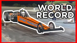 homepage tile video photo for ELECTRIC DRAGSTER BREAKS 200MPH!