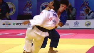 ONO Vs MUKI -73Kg Quarterfinal Judo World Championship 2015