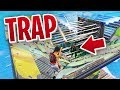 *IT WORKED!* - PORT-A-FORT SPIKE TRAP in Fortnite