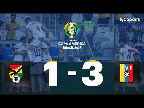 Highlights Bolivia vs. Venezuela | #CopaAméricaEnTyCSports
