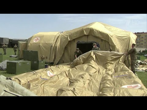 Прибывшие в Дагестан дополнительные силы МЧС уже начали оказывать помощь республике.
