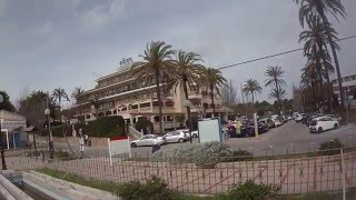 Hotel Serrano Palace Cala Ratjada 5* - Beach Strand Eingang in Mallorca