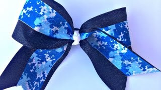 How to Make a Big Glitter Cheer Bow Without Sewing