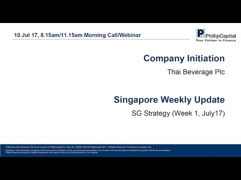 Market Outlook – Thai Beverage (Initiation) and SG Strategy Update
