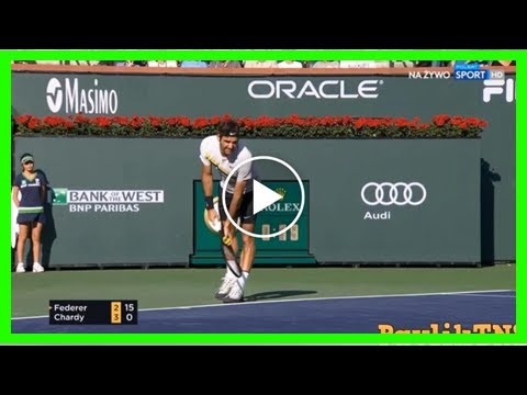 Federer Beats Chardy Highlights