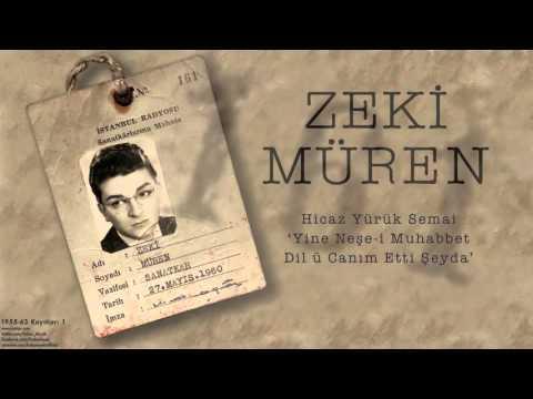 Zeki Müren - Yine Neşe-i Muhabbet Dil ü Canım Etti Şeyda [ 1955-63 Kayıtları © 2002 Kalan Müzik ]