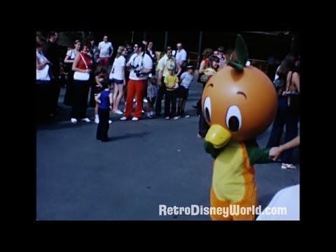 Magic Kingdom Oct '74 With Orange Bird!