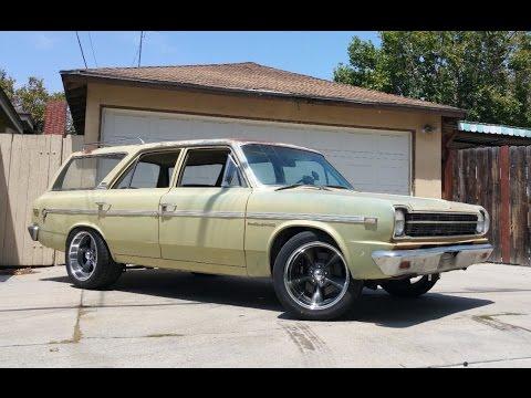 1969 American Motors Rambler Wagon Hot Rod - One Take