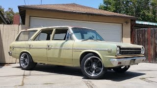 1969 American Motors Rambler Wagon Hot Rod - One Take