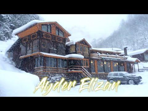Yılbaşında Ayder Elizan Dağ Evleri