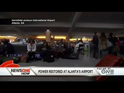 Massive Power Outage At Hartsfield–Jackson Airport In ATL Leaves Thousand In The Dark