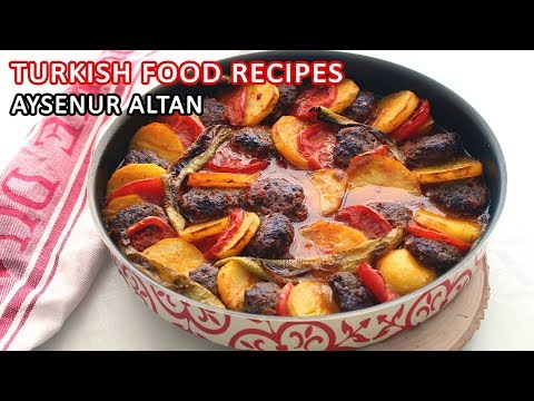 Turkish Meatball And Potato Recipe With Tomato Sauce / Easy And Delicious | Aysenur Altan